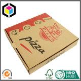 Rectángulo de empaquetado de la pizza del papel de cartulina acanalada de la impresión de color de Flexo