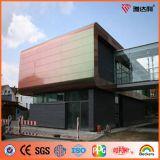 Painel composto de alumínio dos espetros do preço do competidor de Ideabond (ACM)