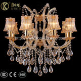 Hot Sale Clip Crystal Chandelier Light