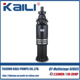 pompa di miniera (a più stadi) sommergibile Oil-Filled della pompa delle acque pulite della pompa di 5Stage QY