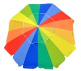 Ombrello di spiaggia resistente Premium della vetroresina da 7 FT Upf 100+