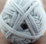 싼 손 뜨개질을 하는 코바늘로 뜨개질 공상 테이프 훅 부대 t-셔츠 털실