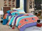 가정 명료한 가까운 다채로운 침대 시트 침구 세트