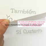 Adornos cristalinos de la boda de la decoración de la boda del zapato del Rhinestone cristalino de las etiquetas engomadas (TP-033)
