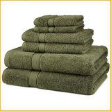 Tovagliolo di lusso dell'hotel della stella del cotone di alta qualità, tovagliolo di bagno dell'hotel