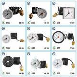 manomètre 004 45mm capillaire d'indicateur de pression d'acier inoxydable/mètres de mesures