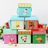 Full Color Customized Geschenk-Verpackung Box mit Griff