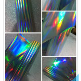 피복을%s 색채 자필 최신 각인 포일 또는 플라스틱 또는 직물