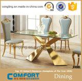 Комплект столовой золота самомоднейшей конструкции