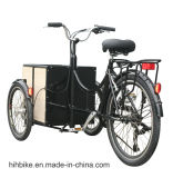 250W миниый электрический груз Trike для сбывания с корзиной Front&Rear