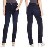 Джинсыов способа джинсыов джинсовой ткани женщин OEM фабрики тощие 2017