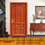 Puerta europea de madera sólida del estilo sola (GSP2-015)