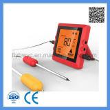 100 medidores de termômetro de carne remoto esperto do forno de Bluetooth para a grade