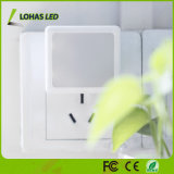 Sensor de luz LED Night Light com Plug Walll Light