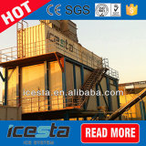 Sistema de entrega refrigerando do gelo do floco do concreto de Icesta