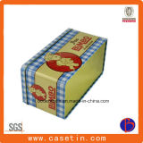 주문 직사각형 금속 선물 포장 주석 상자, 선물 양철 깡통