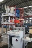 Cuatro máquina hidráulica plateada de metal hidráulica de la prensa de la embutición profunda de la troqueladora 63t de la columna