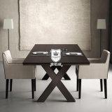 이탈리아 디자인 식사를 위한 나무로 되는 호텔 테이블 그리고 의자