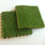 スーパーマーケットおよびホーム庭の装飾のための人工的な草のタイルの美化