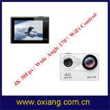 4k ultra HD Vorgangs-Kamera 170 Grad-Ansicht-Winkel wasserdichte WiFi Sport-Kamera