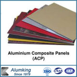Materiale della decorazione della garanzia 15-20years e variopinto--Comitato composito di plastica di alluminio