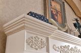 ホテルの家具白いヨーロッパ式LEDはつける暖房の電気暖炉(320AB)を