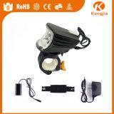 Fahrrad-helles vorderes und rückseitiges Fahrrad-Sturzhelm-Licht 500 Lumen-LED