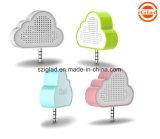 Altoparlante mobile senza fili portatile passivo di figura della nube mini