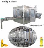 8-8-3 Flaschenreinigung des Haustier-16-12-6 18-18-6 24-24-8 32-32-10 40-40-12 füllende mit einer Kappe bedeckende Maschine des Geräten-3 in-1