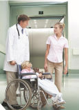 Bett-Höhenruder-Krankenhaus-Höhenruder-medizinischer Höhenruder-Bahre-Aufzug