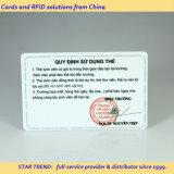 Volledig Gedrukt PVC kaart met de handtekening Panel for Client Card