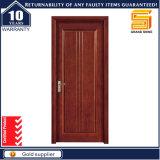 Porte extérieure de double panneau en bois solide de garantie