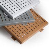 Falso techo de aluminio con el patrón perforado para Techo decorativo