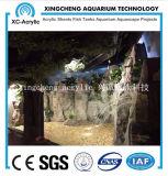 Proyecto de acrílico material de acrílico transparente grande del tanque del sello