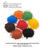 Al Oxyde van het Ijzer van het Pigment van de Rang van Kleuren Industrieel