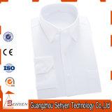 Camicia convenzionale di affari della camicia di vestito dal cotone degli uomini della fabbrica con la pianura