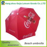 Acero impermeable al por mayor rectas Paraguas Publicidad Garden Beach
