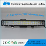 Barra ligera campo a través de la lámpara SUV LED del trabajo del precio de fábrica 126W