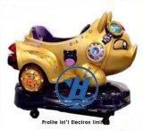 Rit van Kiddie van het Pretpark van de Auto van het Varken van Gloden de Elektronische Voor Kinderen (zj-KC33)