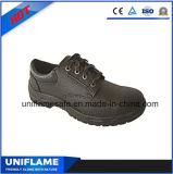 Zapatos baratos negros de la seguridad en el trabajo Ufa014