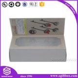 Caixa de indicador cosmética de papel colorida de Cmyk da impressão feita sob encomenda