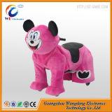 Carro elétrico do passeio do animal enchido de Wangdong para miúdos