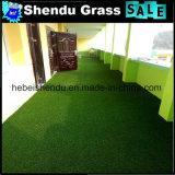 Uは建物の装飾のためのすべての緑色の人工的な草の泥炭を形づける