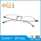 Einfache Halb-Randlose TitanEyewear Brille-Glas-optischer Rahmen (8509)
