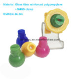 Ugello di plastica di pulitura e di lavaggio dello spruzzo d'acqua della clip dell'accoppiamento femminile maschio