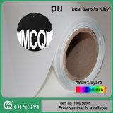 의류와 부대를 위한 Qin Gyi 코드 PU 열전달 비닐