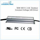fuente de alimentación constante al aire libre impermeable del voltaje LED de 96W 40V 0~2.4A
