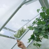 アルミニウム花の家の温室