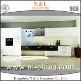 Mobilia di legno bianca all'ingrosso moderna della cucina della casa del grano