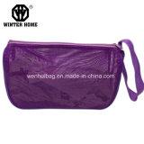 Sac cosmétique de maille de couleurs de la mode 3, sac de lavage